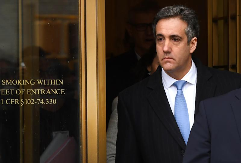 US President Donald Trump's former attorney Michael Cohen will testify to Congress on February 7 on his dealings with the president (AFP Photo/TIMOTHY A. CLARY)