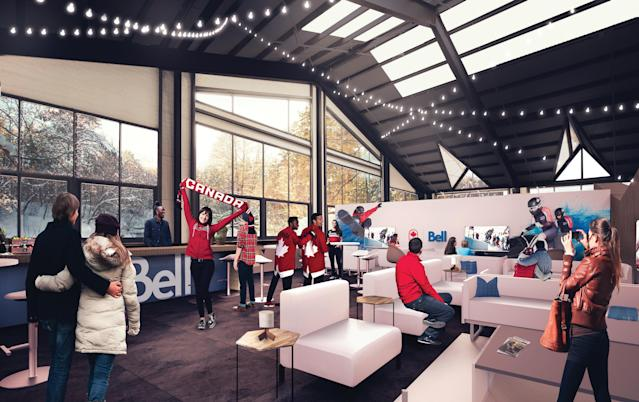 Artist's rendering of Canada Olympic House (Sid Lee/Canadian Olympic Committee)