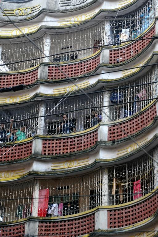 Bangladeshi police stormed this building in Dhaka where they said a new mass attack was being planned