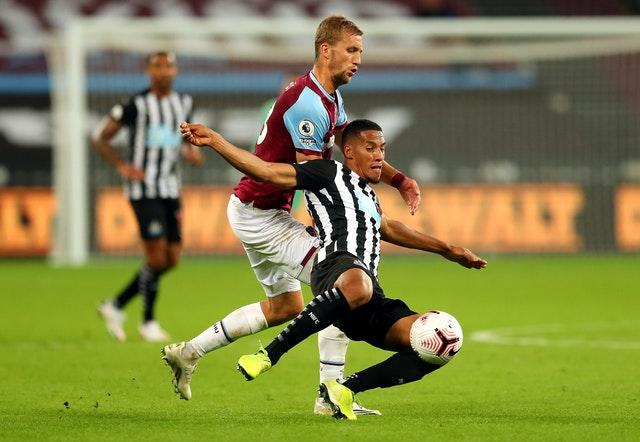 The West Ham v Newcastle match was not originally due to be broadcast, but was screened on Sky Sports after an agreement was reached between clubs and broadcast partners last week