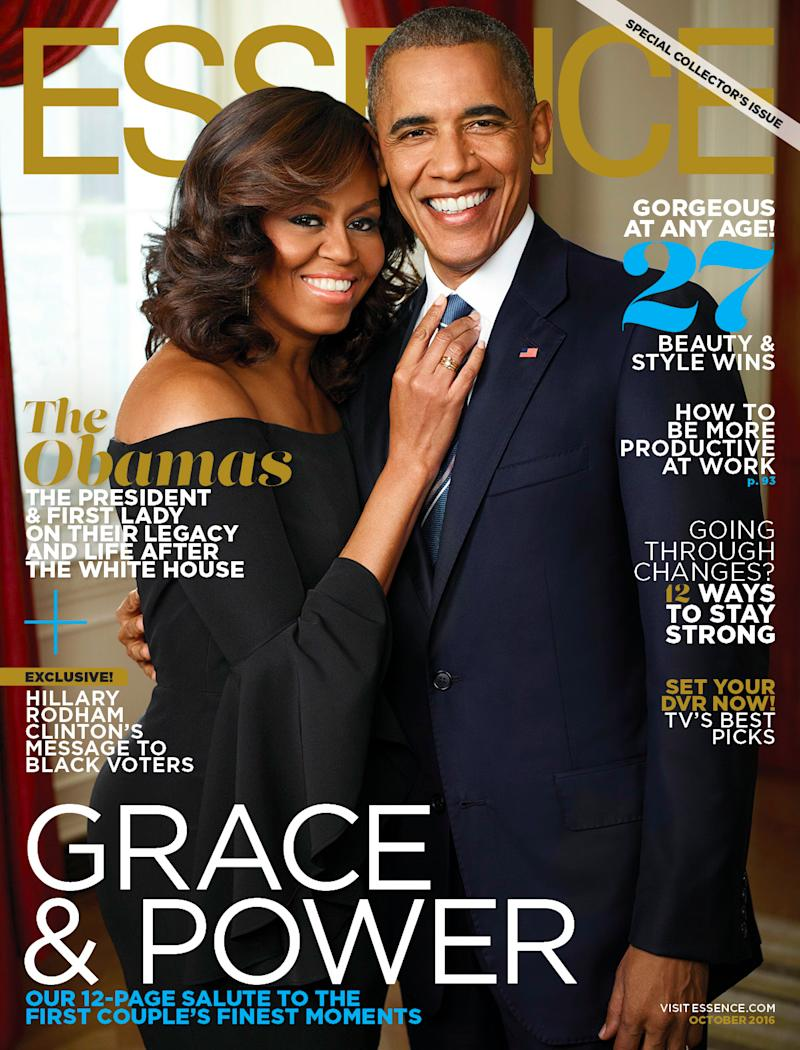The first lady graces two magazine covers as she leaves the White House this fall. (Photo: Kwaku Alston for Essence)