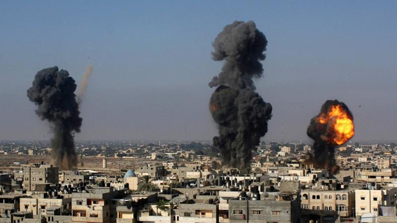 Israeli Rockets Hit 200 Hamas Targets As Reservists Prepare For Possible Ground Invasion