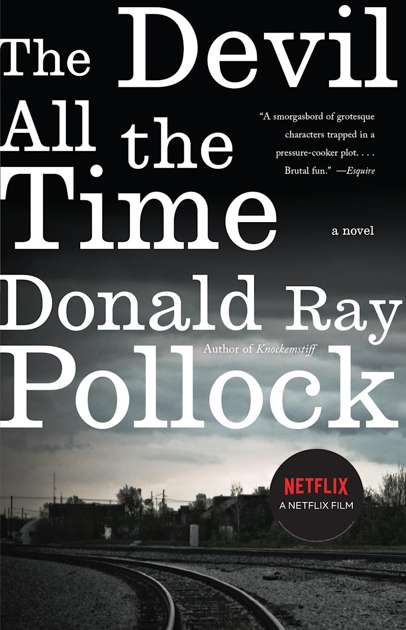 The Devil All the Time by Donald Ray Pollock. Image via Indigo.