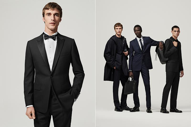 Tailoring from Dior's new men's essentials collection.