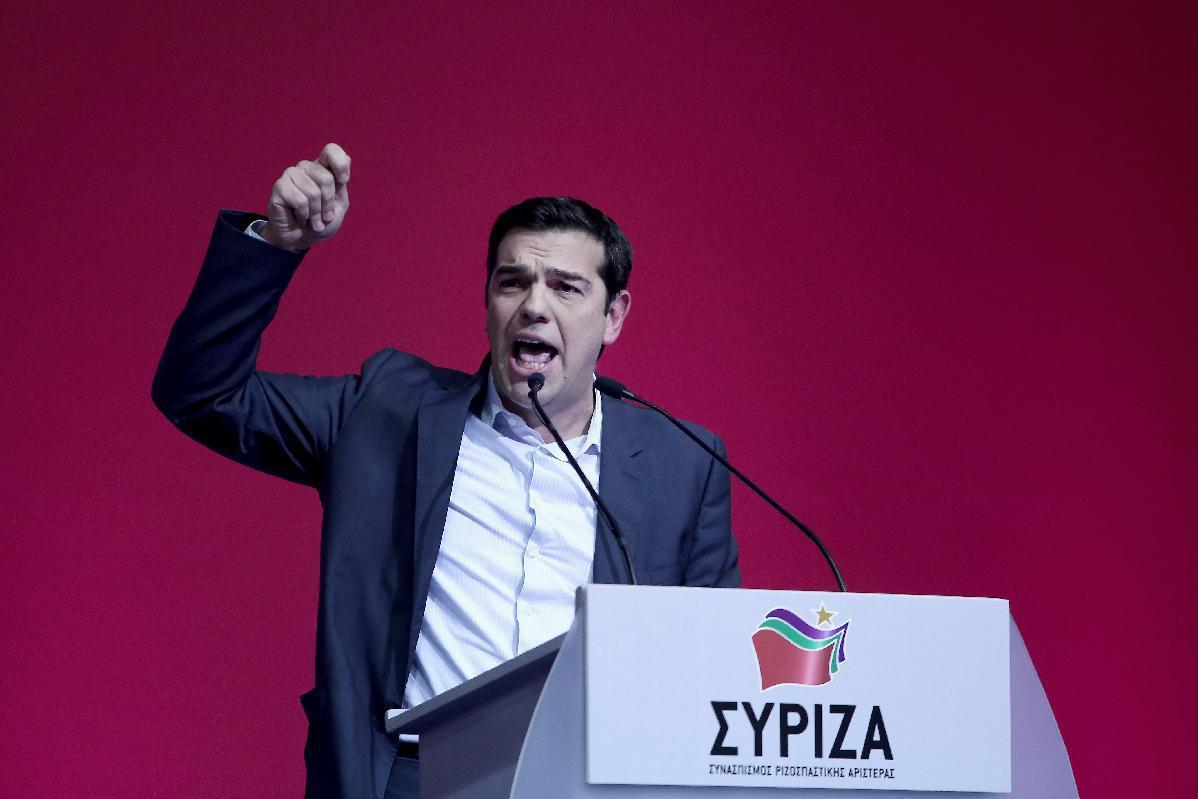 left wing leader alexis tsipras - HD1198×799