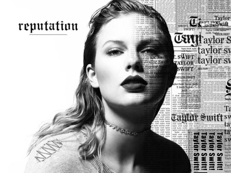 The artwork for Taylor Swift's new album has been unveiled by the artist on her Instagram page