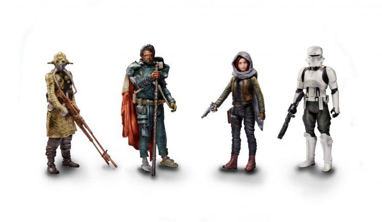 ROGUE ONE A STAR WARS STORY 3.75-INCH JEDHA REVOLT 4-PACK