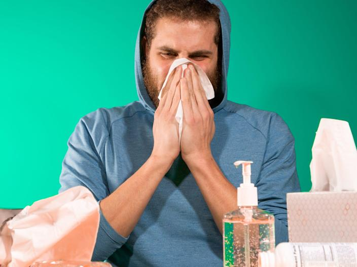 Even if someone sneezes in your food, you won't catch coronavirus.