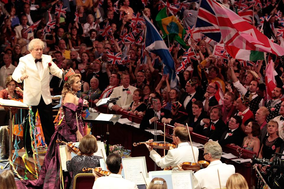 Gove is said to be taking an interest in culture war issues like the singing of Rule Britannia at the Proms (Photo: Matt Kent via Getty Images)