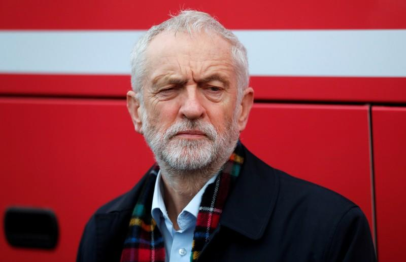 FILE PHOTO: Britain's opposition Labour Party leader Jeremy Corbyn visits Scotland