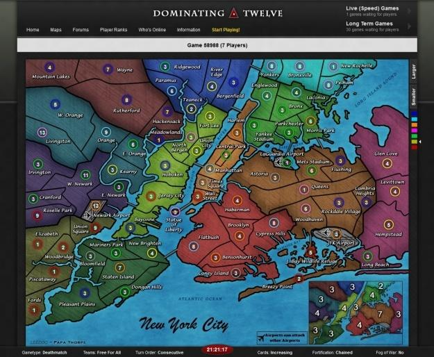 Where to Play Risk Online: Dominating Twelve
