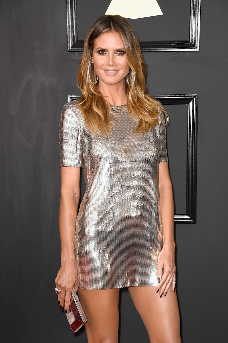 Heidi Klum See Through Dress Newhairstylesformen2014 Com