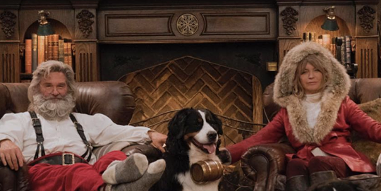 goldie hawn and kurt russell just won christmas with their