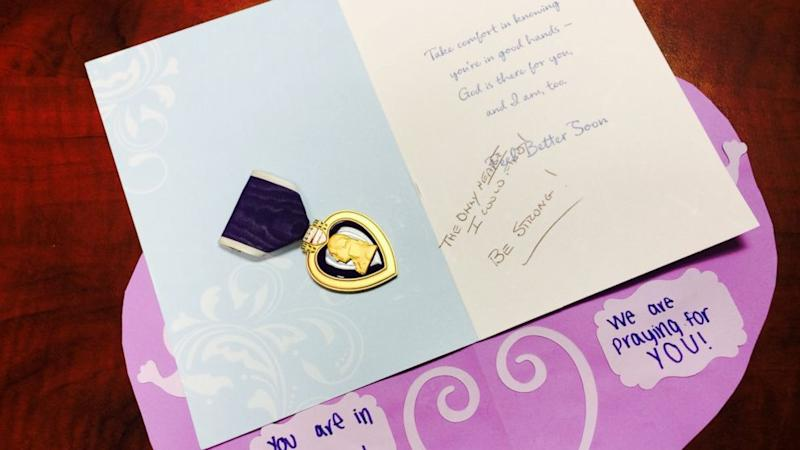 Girl Attacked in 'Slender Man' Case Receives Anonymous Purple Heart