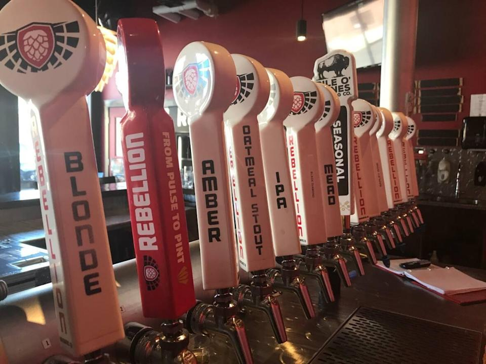 Rebellion Brewing has been getting support from across the country after a would-be customer decided to cause