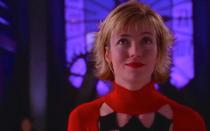 <p>Until Robbie came along, Mia Sara (<i>Ferris Bueller's Day Off</i>) was the only live-action Harley Quinn, playing the part on The WB's short-lived series. Hers was the first Harley to eschew the traditional jester hat and mask. <i>(Photo: The WB)</i></p>