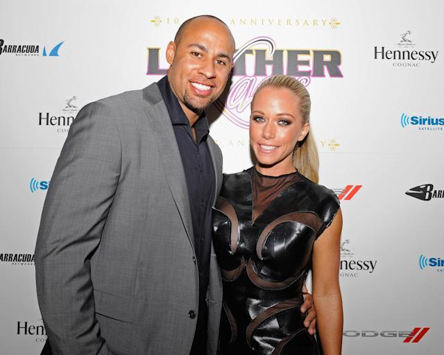 Kendra Wilkinson and Hank Baskett. (Photo: Getty Images)