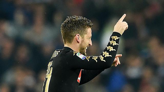 Napoli president Aurelio De Laurentiis has suggested Dries Mertens could leave the Serie A side due to personal reasons.