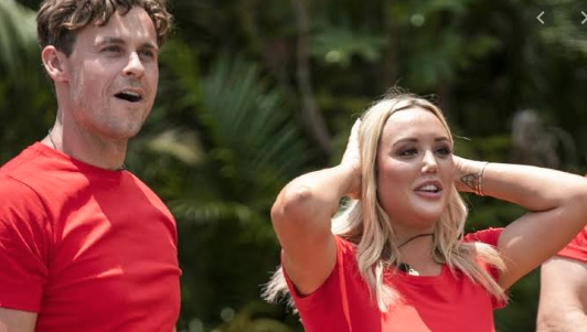 Ryan Gallagher and Charlotte Crosby on I'm A Celebrity... Get Me Out Of Here!