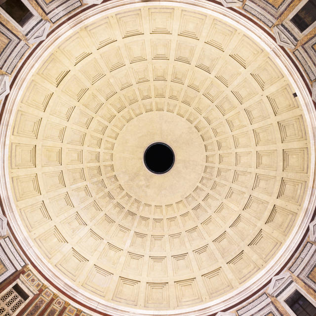 <p>The Pantheon, Rome. (Photo: Loic Lagard/Caters News) </p>