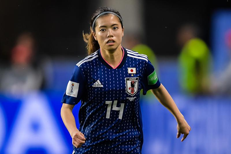 Japan has had the fifth-most confirmed cases of COVID-19 in the world, and every member of the country's SheBelieves Cup delegation, including midfielder Yui Hasegawa (pictured), has been medically cleared for the event. (Photo by VI Images via Getty Images)