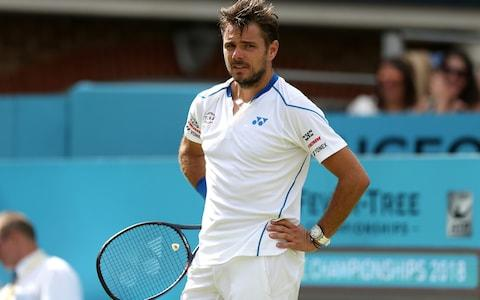 <span>Stan Wawrinka defended Chris Kermode</span> <span>Credit: getty </span>