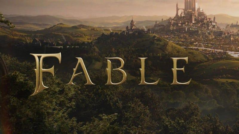 fable logo against a fantasy inspired background