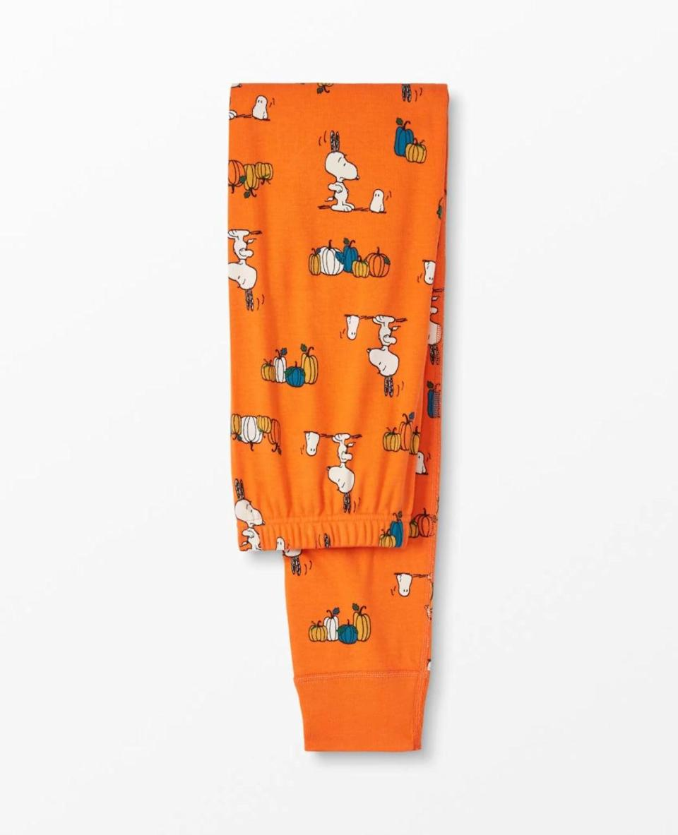 "<p>The Adult Peanuts <span>Halloween Long John Pant</span> ($48) will finish off your <a class=""link rapid-noclick-resp"" href=""https://www.popsugar.com/Halloween"" rel=""nofollow noopener"" target=""_blank"" data-ylk=""slk:Halloween"">Halloween</a> look.</p>"