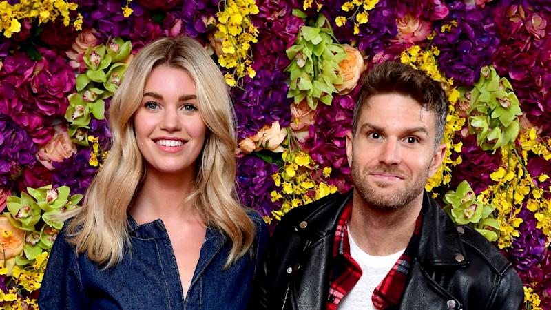 Comedian Joel Dommett marries Hannah Cooper in beach wedding