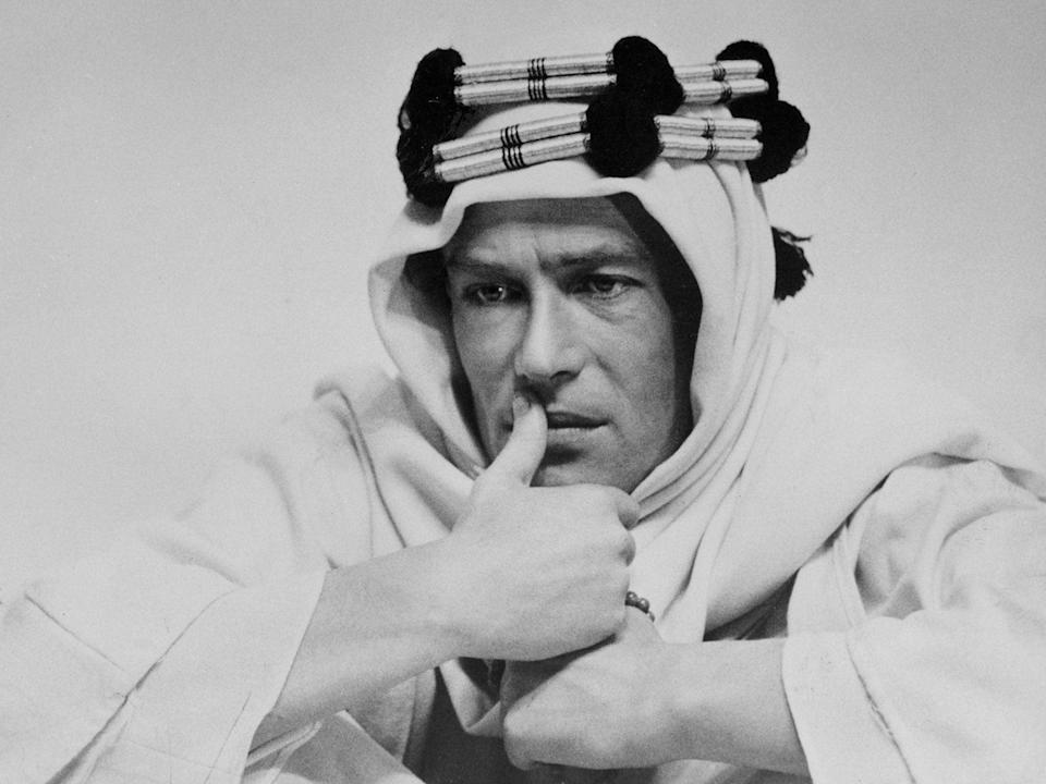 Peter O'Toole in 'Lawrence of Arabia'AP