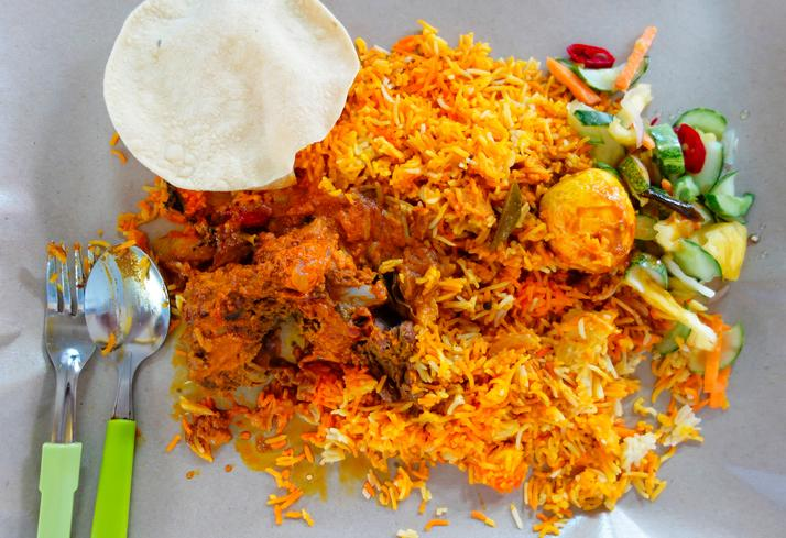 <p>When the Tamils from India went and settled in Sri Lanka, they took the recipe of biryani with them. The first shop that sold biryani in Colombo was called Buharis. And the Sri Lankan biryani that is much spicier than any Indian version is thus called 'buryani'. </p>