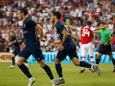 International Champions Cup: Out-of-favour Gareth Bale scores on return as Real Madrid edge past Arsenal on penalties