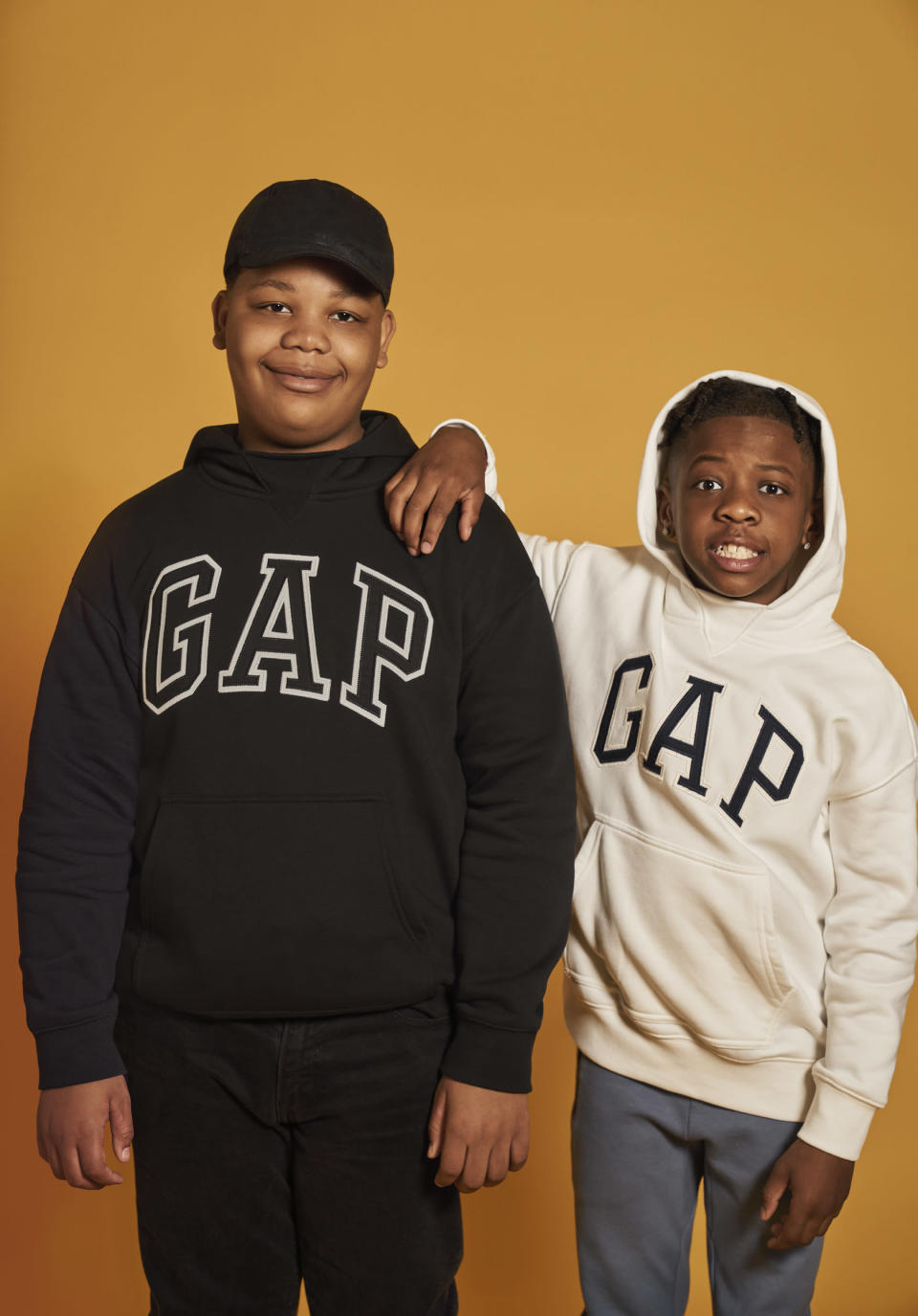 Hickory Ridge Elementary School students featured in GapKids back-to-school campaign. - Credit: courtesy shot.