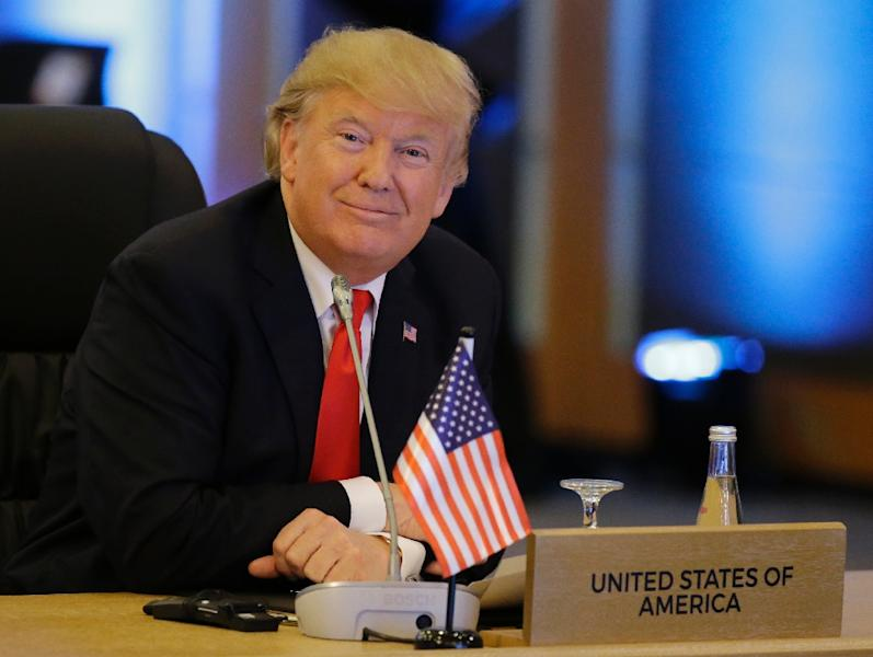 In Manila, where US President Donald Trump is attending meetings with the 10-member Association of Southeast Asian Nations (ASEAN) and several other countries, he said there would be good news on trade once he returned to the White House (AFP Photo/Aaron Favila)