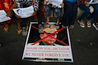 """The junta has defended seizing power and said it will not tolerate """"anarchy"""" wrought by protesters"""