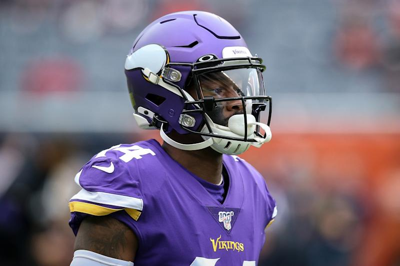 Stefon Diggs is reportedly unhappy with the Vikings. (Getty Images)