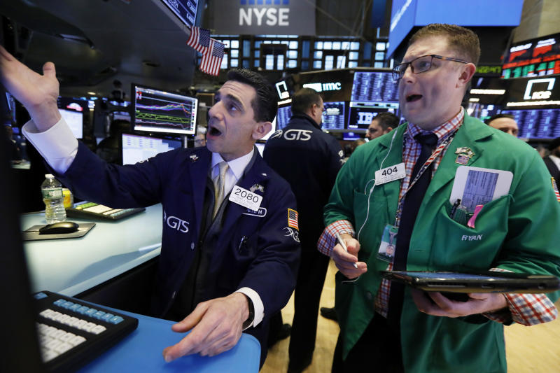 Industrials lead US stocks higher again; Macy's nosedives