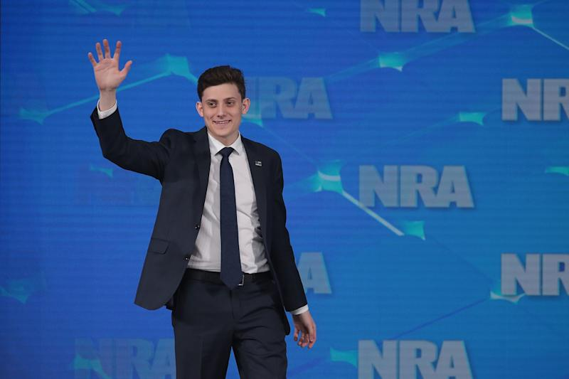 Kyle Kashuv responds to former Republican Congressman who compared him to a shooter (Credit: Getty)