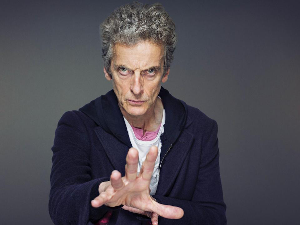 Peter Capaldi became the 12th actor to play the Doctor in 2013: BBC