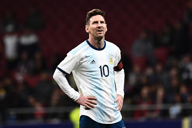 Lionel Messi played the whole match as Argentina lost to Venezuela last Friday but suffered a recurrence of an existing injury