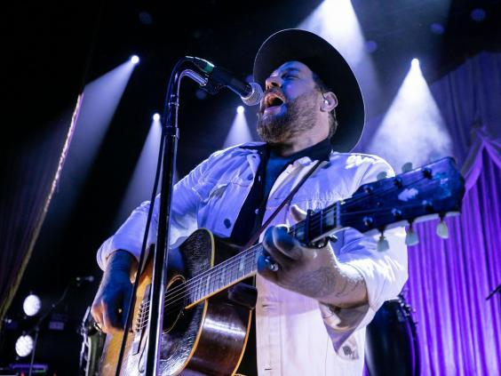 Songwriter Nathaniel Rateliff has an imposing, soulful voice (Rex)