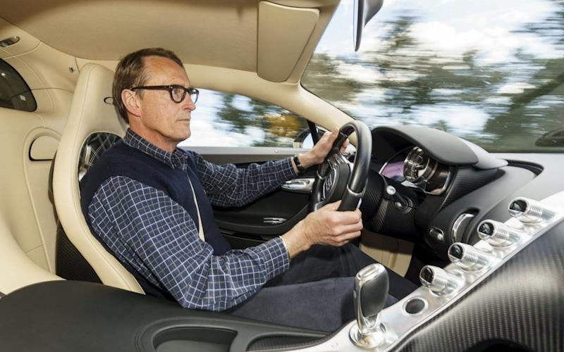 Andrew English Telegraph Cars Motoring Bugatti Chiron review 2017 - Credit: Dominic Fraser