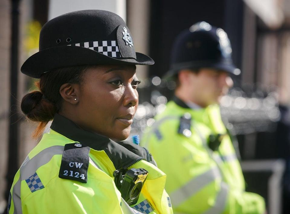 <p>File image: Metropolitan Police officer on duty</p> (Getty Images)