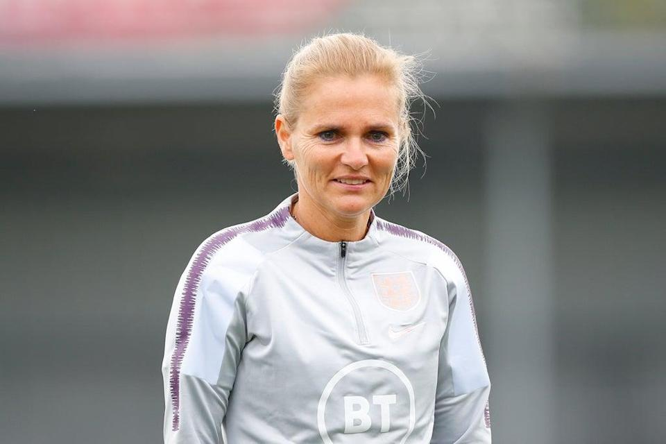 Sarina Wiegman will take charge of her first England game (The FA via Getty Images)