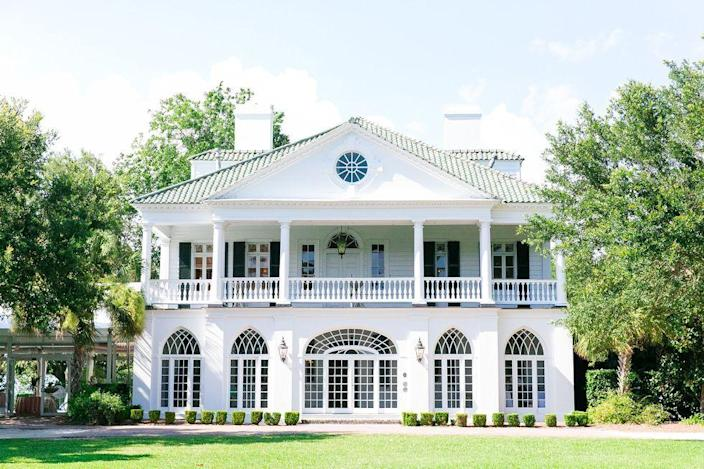 """<p>Sarah Cameron's family home in <a href=""""https://www.housebeautiful.com/design-inspiration/a32477495/inside-netflix-outer-banks-home-lowndes-grove/"""" rel=""""nofollow noopener"""" target=""""_blank"""" data-ylk=""""slk:Netflix's Outer Banks"""" class=""""link rapid-noclick-resp"""">Netflix's <em>Outer Banks</em></a> is a historic house located in Charleston, South Carolina, called Lowndes Grove. It was built in 1786, and the 14-acre property comes complete with a waterfront view. Currently, it's used as an event space for weddings, meetings, receptions, and celebrations.</p><p>266 St Margaret St, Charleston, SC 29403</p>"""
