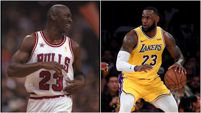 After LeBron James surpassed Michael Jordan's NBA points total, we debate who is the greatest of all time.