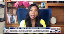 """<p>""""Last political segment of 2020,"""" the <a href=""""https://people.com/tag/real-housewives-of-potomac/"""" rel=""""nofollow noopener"""" target=""""_blank"""" data-ylk=""""slk:Real Housewives of Potomac"""" class=""""link rapid-noclick-resp""""><em>Real Housewives of Potomac</em></a> star captioned a clip of her latest news segment. """"From covering the presidential election; the global pandemic; #blacklivesmatter movement; and everything in-between. What a year it has been 😔🙏🏾.""""</p> <p>""""Praying for better days in 2021,"""" she added.</p>"""