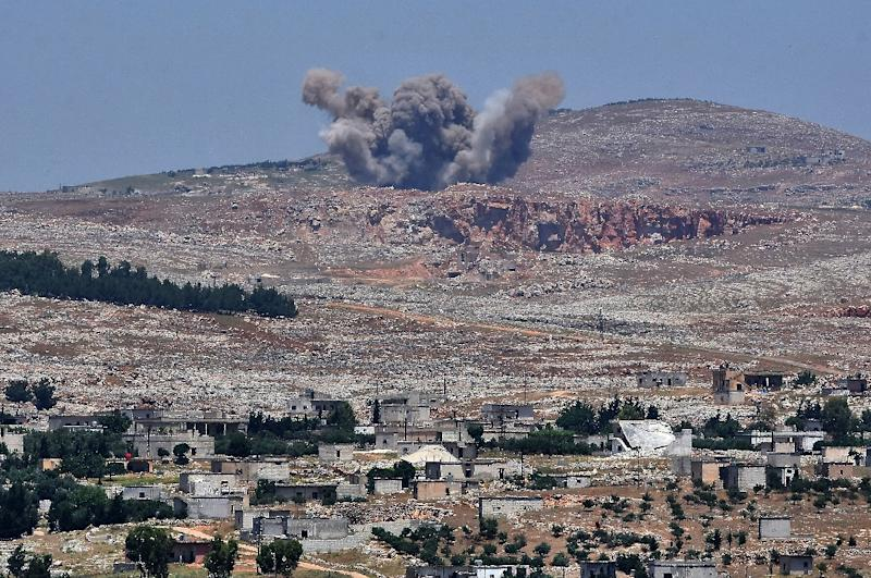 Syrian government forces have been engaged in heavy fighting with jihadists who dominate the northwestern interior along the border with Turkey