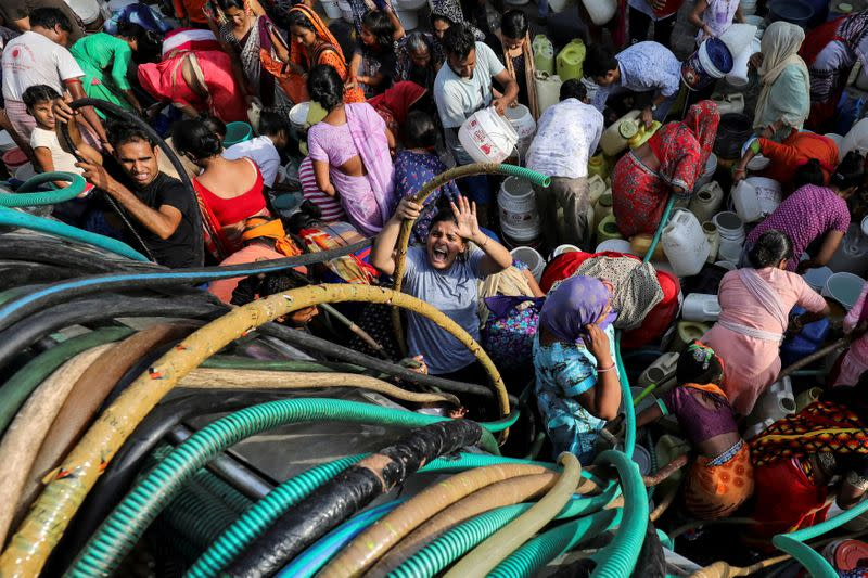 Modi unveils plan to tackle water shortages in India's heartland states