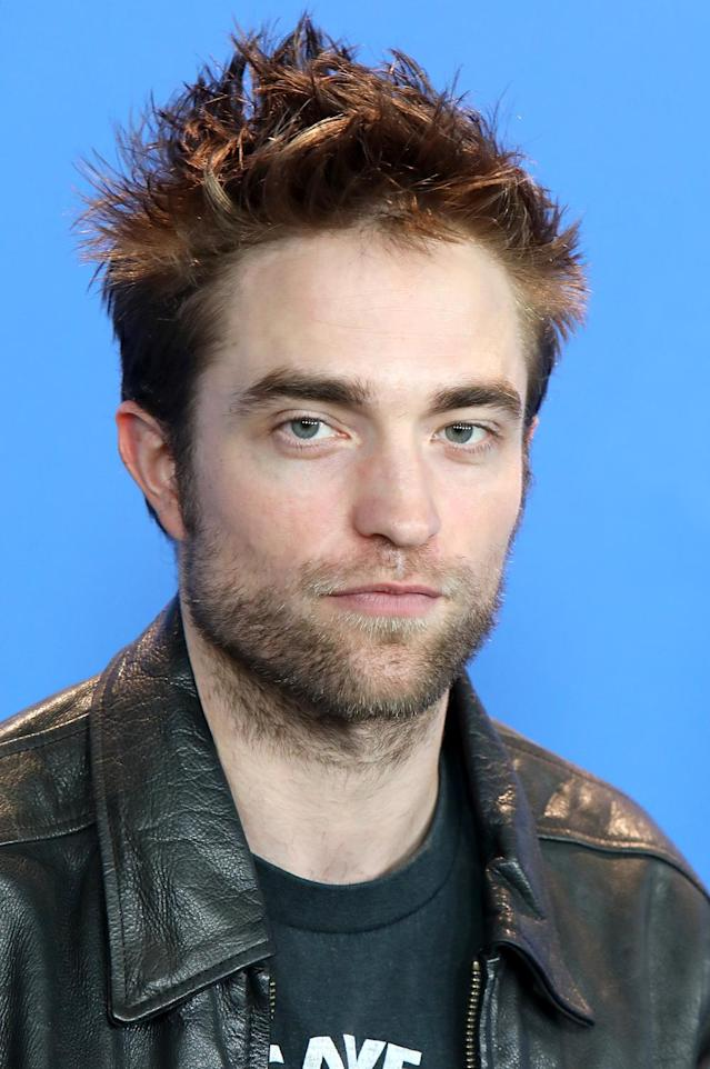 What do you think Robert Pattinson's untamed brows convey? (Photo: Patrick Aventurier/WireImage)